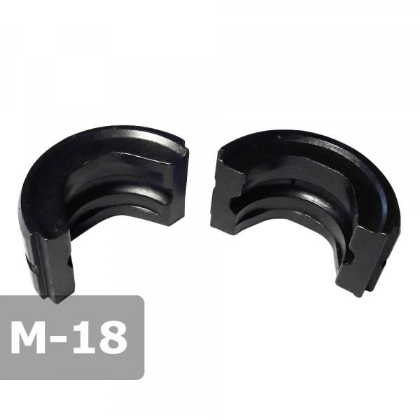 Pressbacke 18mm M-Kontur passend für Presszange HPZ ogw. für Kupferrohr