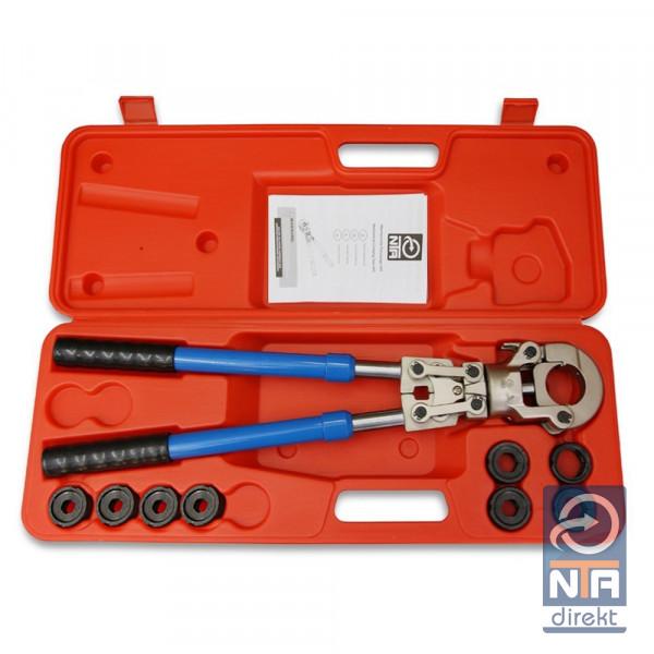 NTA Presszange V-Kontur 15-28mm+VP-Kontur 16-32mm Set Presswerkzeug Pressbacke