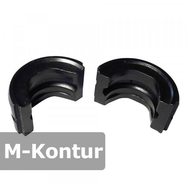Pressbacke 12-15-18-22-28 mm M-Kontur passend für Presszange HPZ f. Kupferrohr