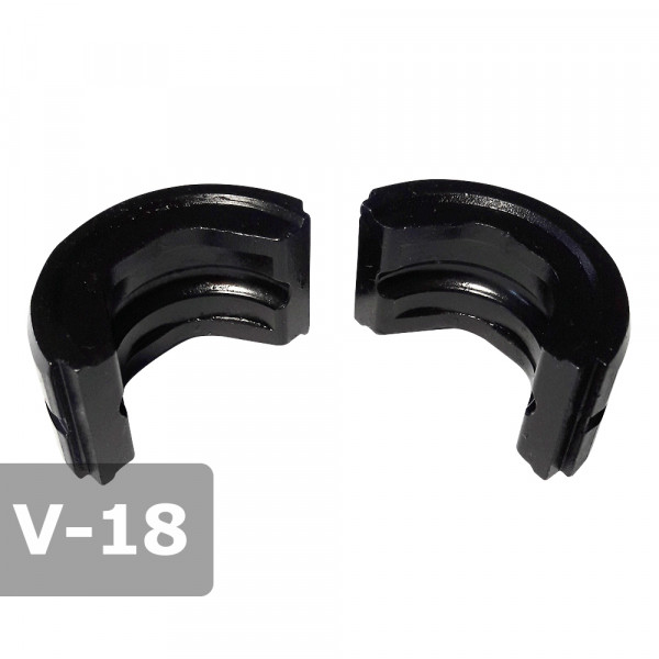 Pressbacke 18mm V-Kontur passend für Presszange HPZ ogw. für Kupferrohr
